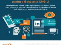 Webinar despre LinkedIN la Școala Digitală pentru ONG-uri