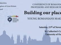 Comunitatea academică românească din Marea Britanie s-a reunit la University of Oxford