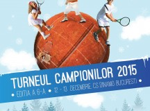 Peste 200 de puști invitați la Turneul Campionilor, evenimentul anului din Tenis10