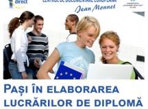Curs gratuit despre elaborarea unei lucrări de licență ce abordează teme legate de Uniunea Europeană
