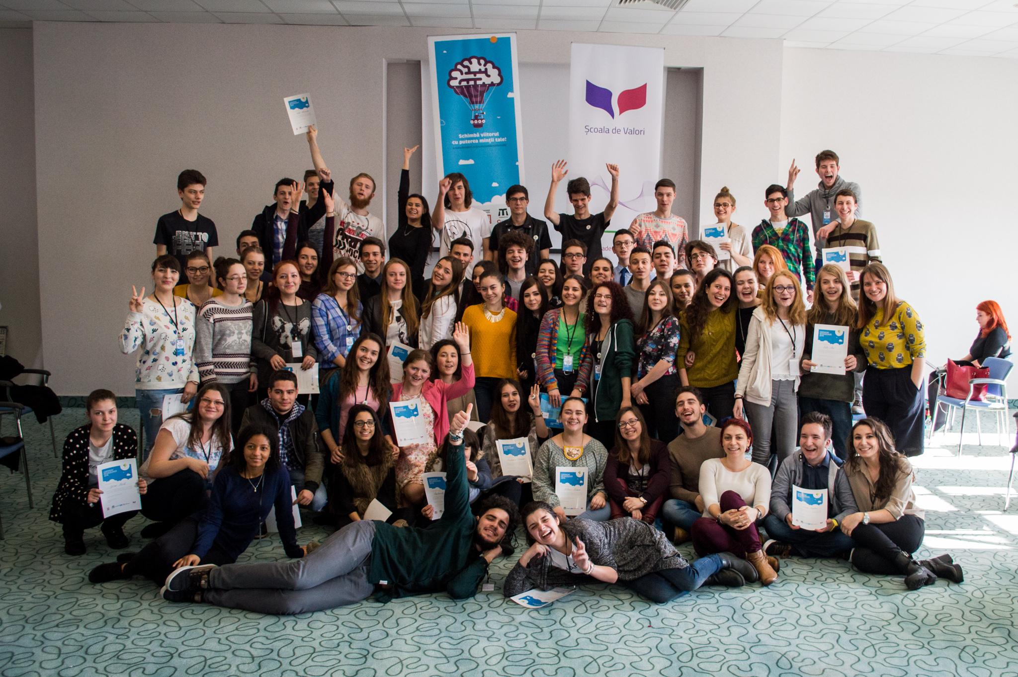 77 de tineri Excepționali din România își propun să schimbe lumea
