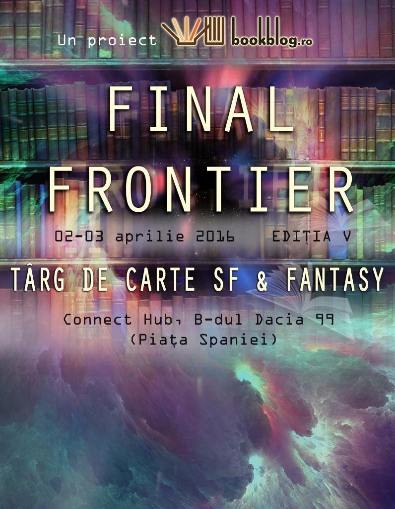 Final Frontier: Târgul de carte cu cei mai pasionați vizitatori