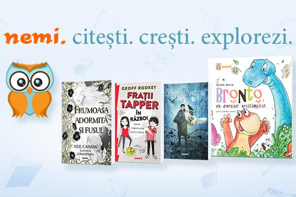 Nemira lansează editura de carte pentru copii NEMI!
