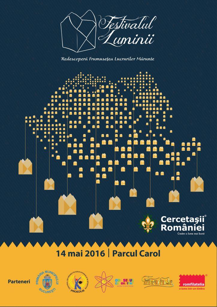 Aproximativ 15.000 de gulguțe vor lumina Parcul Carol la Festivalul Luminii