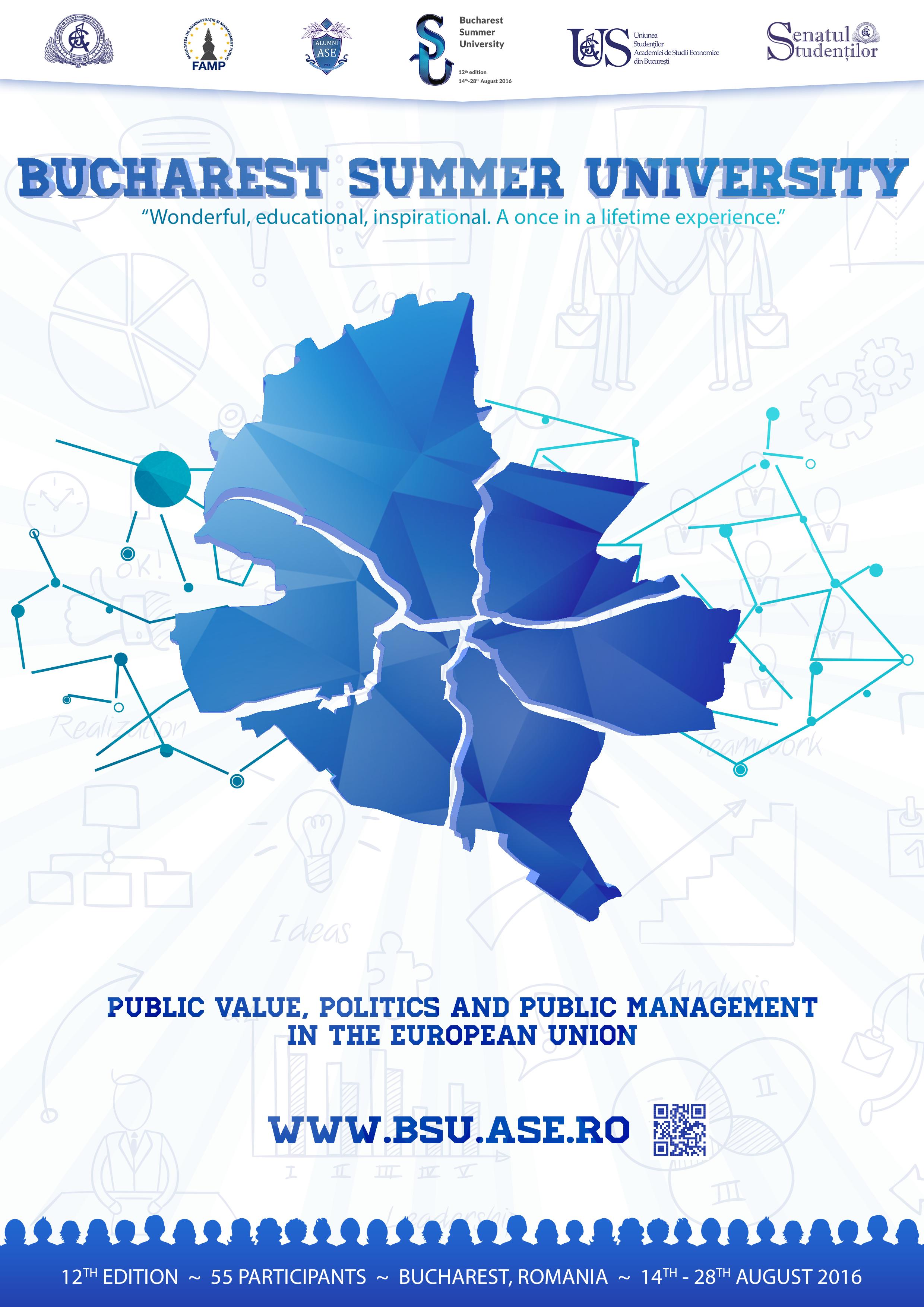Bucharest Summer University revine cu cea de a XII-a ediție!
