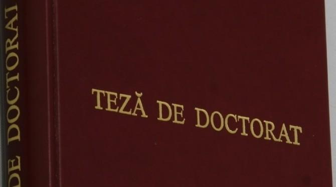 Titlurile de doctorat, luate în vizor de Ministerul Educației!