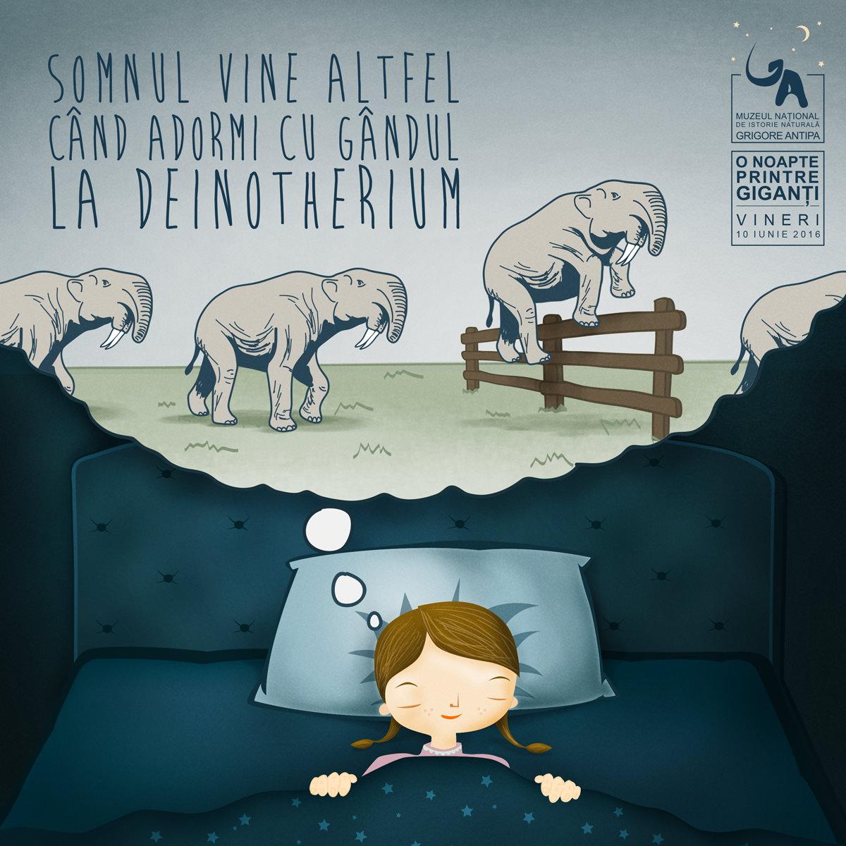 Copiii pot petrece o noapte la muzeu printre exponate, vineri, 10 iunie