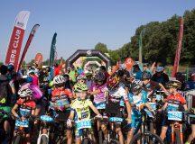 Sute de cicliști s-au bucurat de aventură la Dumbrava cu Mărgăritar