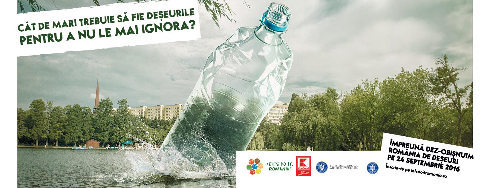 Start înscrieri pentru Ziua de Curățenie Națională! Fă-ți o echipă și alocă-ți un morman pe care să-l cureți pe 24 septembrie!