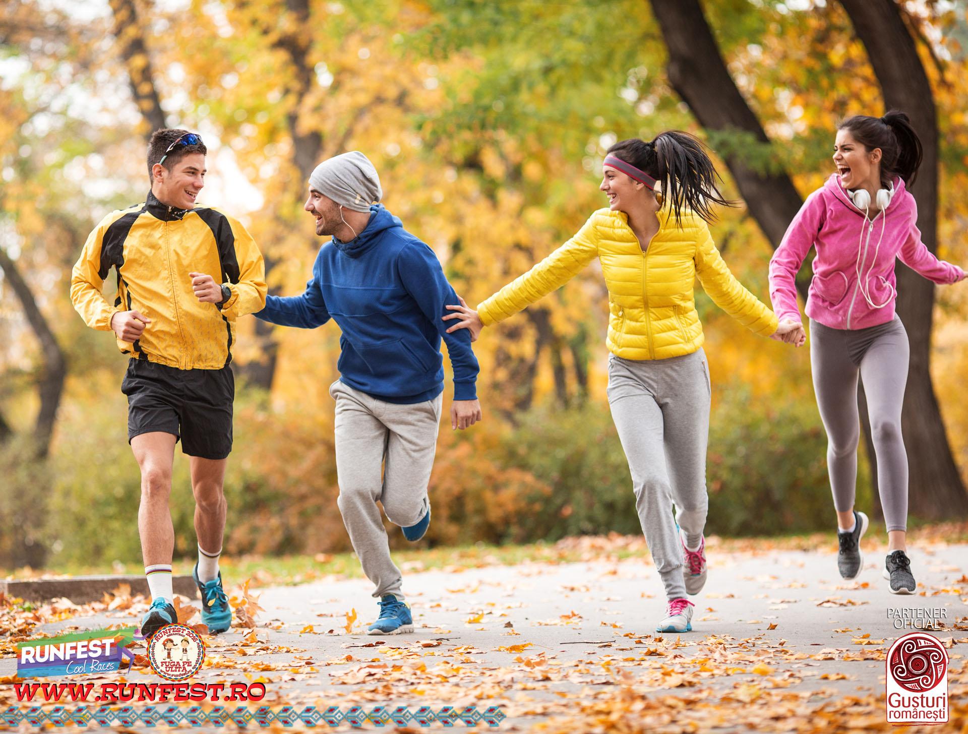 Fuga pe uliță, invitație la mișcare, într-o atmosferă tradițională!