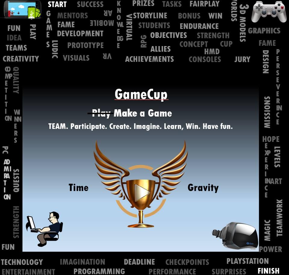 S-a lansat GameCup 1.0, concurs de game development pentru toți studenții din România