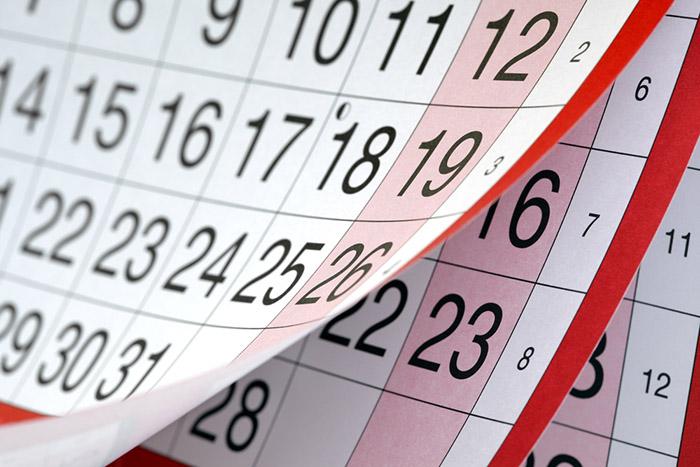 Care și câte zile libere legale sunt în 2017