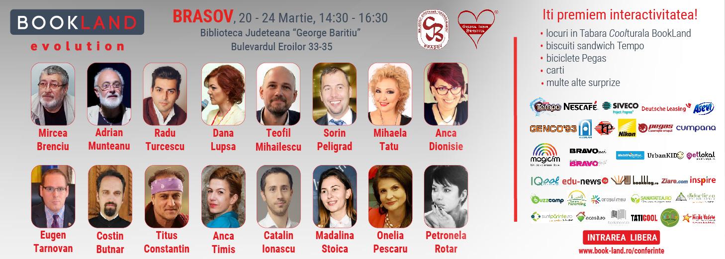 Conferințele BookLand Evolution la Brașov – Drumul către succes e pavat cu…povești care te inspiră