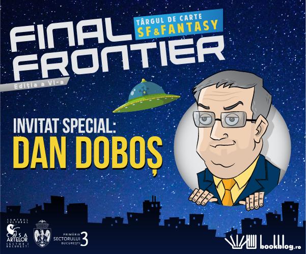 Descoperi ultimele noutăți fantastice la Final Frontier 6 – singurul târg de carte SF & Fantasy
