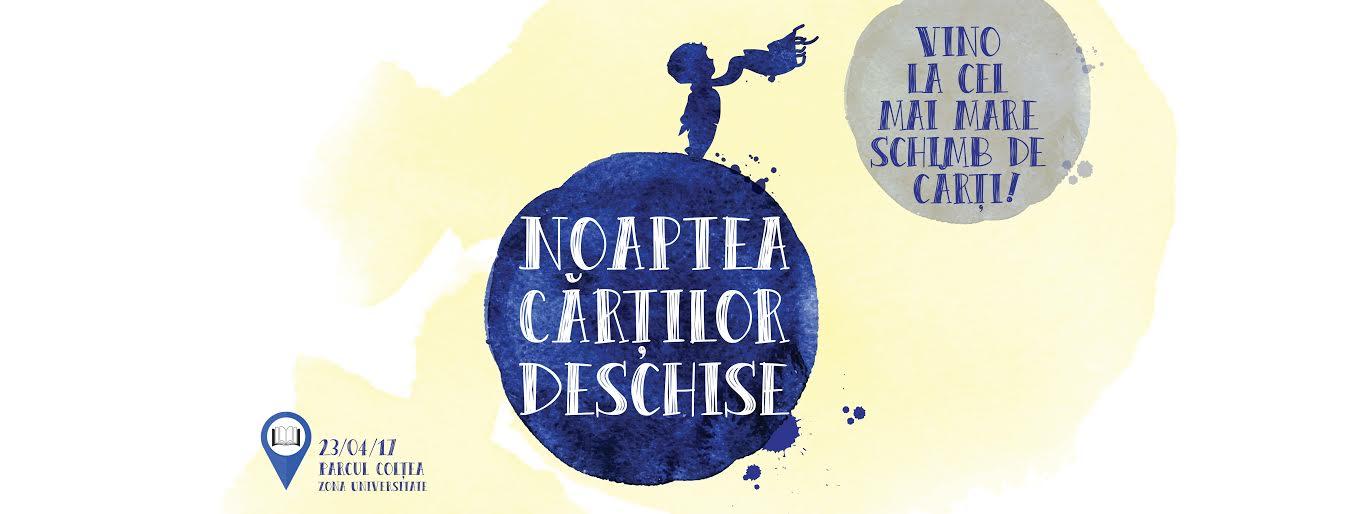 Pe 23 aprilie, Editura Litera invită cititorii la cel mai mare schimb de cărți!