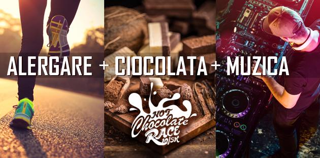 Alergare, muzică și ciocolată! Sute de concurenți sunt așteptați la Hot Chocolate Race 10/5 k