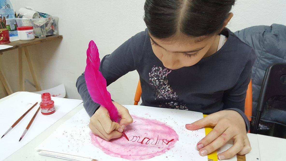 Școală de vară de caligrafie pentru copii