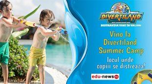 Vara asta cei mici sunt pe val! Vino la Divertiland Summer Camp!