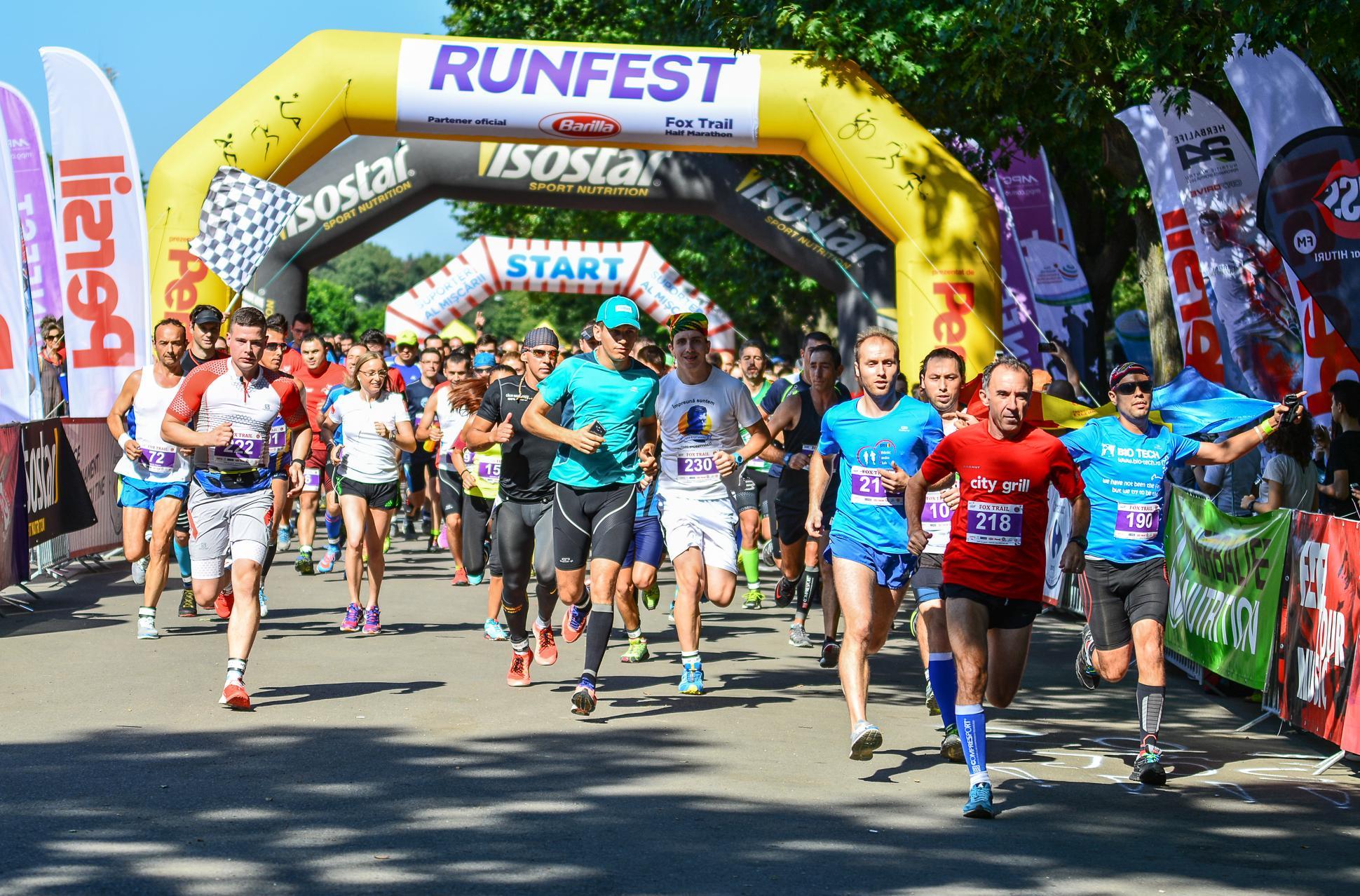 Intrați în cursă la FOX TRAIL Half Marathon și bucurați-vă de mișcare la începutul toamnei!