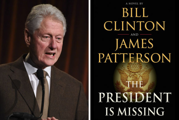 Bill Clinton a scris un thriller politic – The President is missing