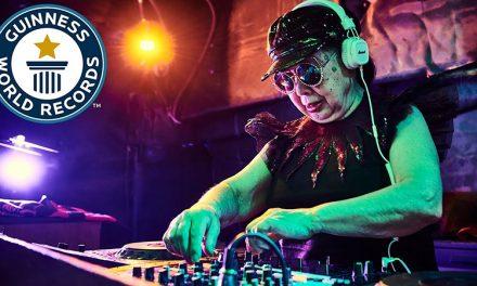 DJ-ita la 80 de ani! Faceti cunostinta cu Sumiko Iwamura