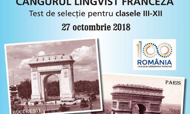 Start la Cangurul Lingvist – Franceza!