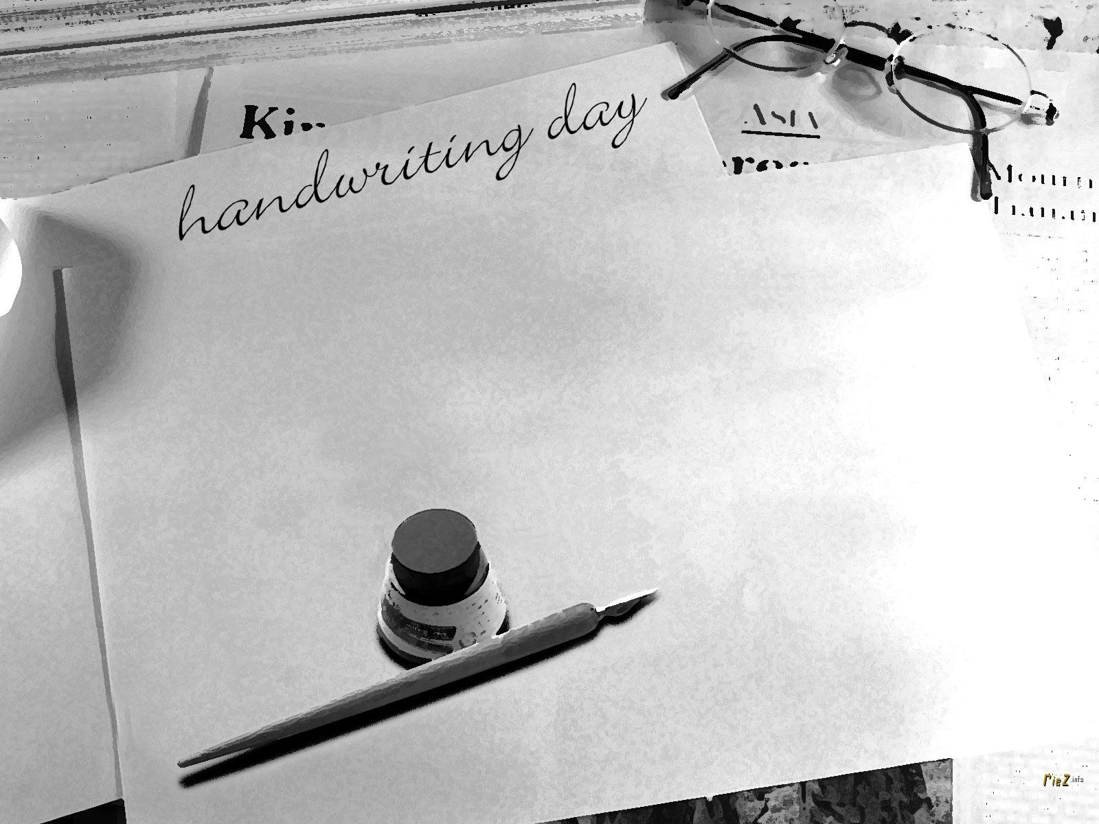 Azi e Ziua Internațională a scrisului de mână