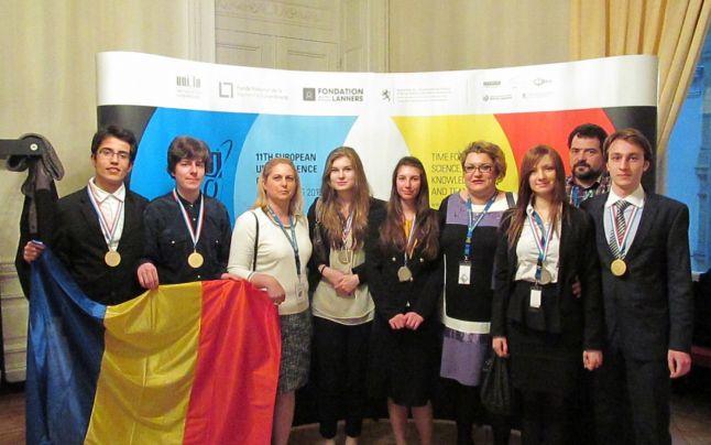 Elevii români au luat aur și argint la Olimpiada de Științe a Uniunii Europene