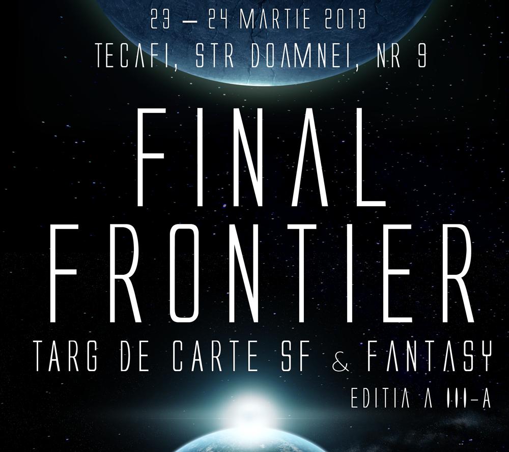Final Frontier – târgul pasionaților de SF & Fantasy