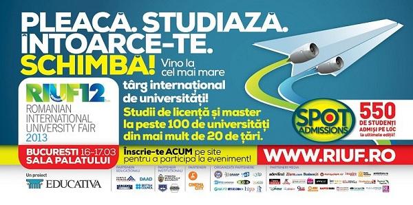 În weekend are loc cel mai mare târg internațional de universități