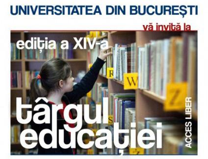 Universitatea din București își deschide porțile la Târgul Educației