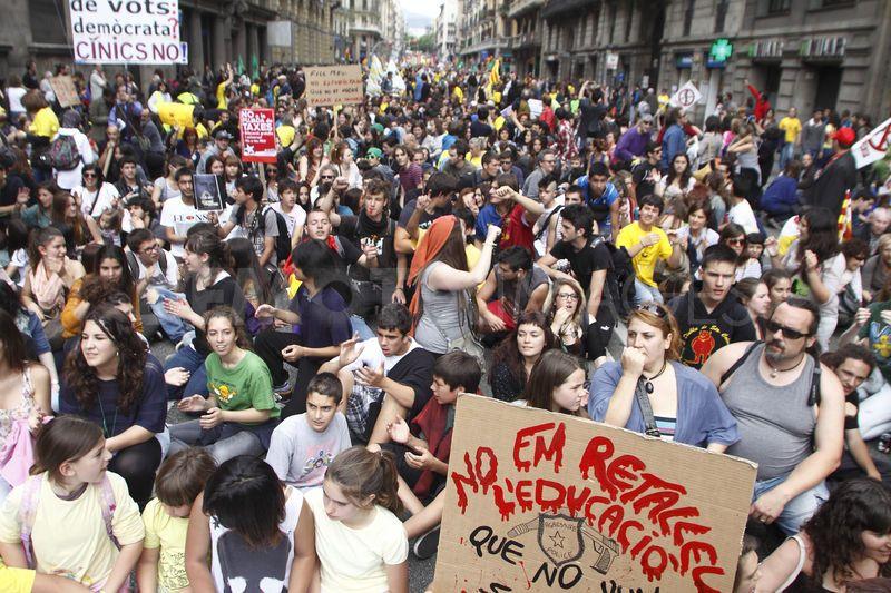 Grevă generală în învățământ în Spania