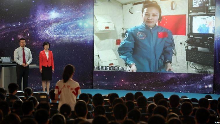 Elevii chinezi învață astronomie direct din spațiu