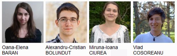 Elevii români își adjudecă medalie după medalie la olimpiadele internaționale
