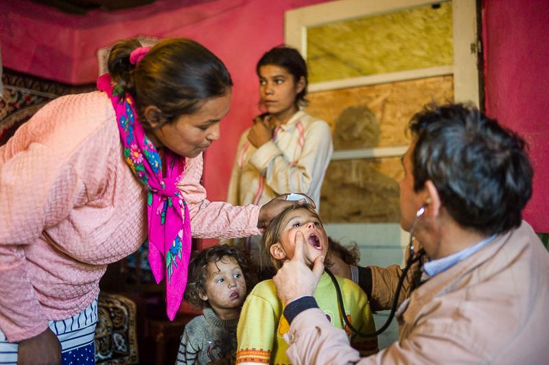 Cei mai săraci copii din 17 comunități au beneficiat de asistență medicală în programul Fiecare Copil în Grădiniță