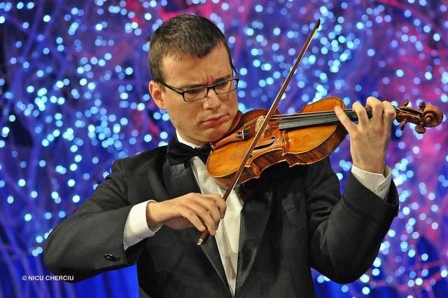Alexandru Tomescu a câștigat pentru a doua oară dreptul de a cânta pe vioara Stradivarius Elder-Voicu