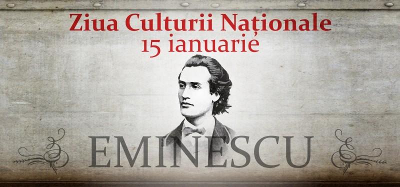 Astăzi sărbătorim Ziua Culturii Naționale