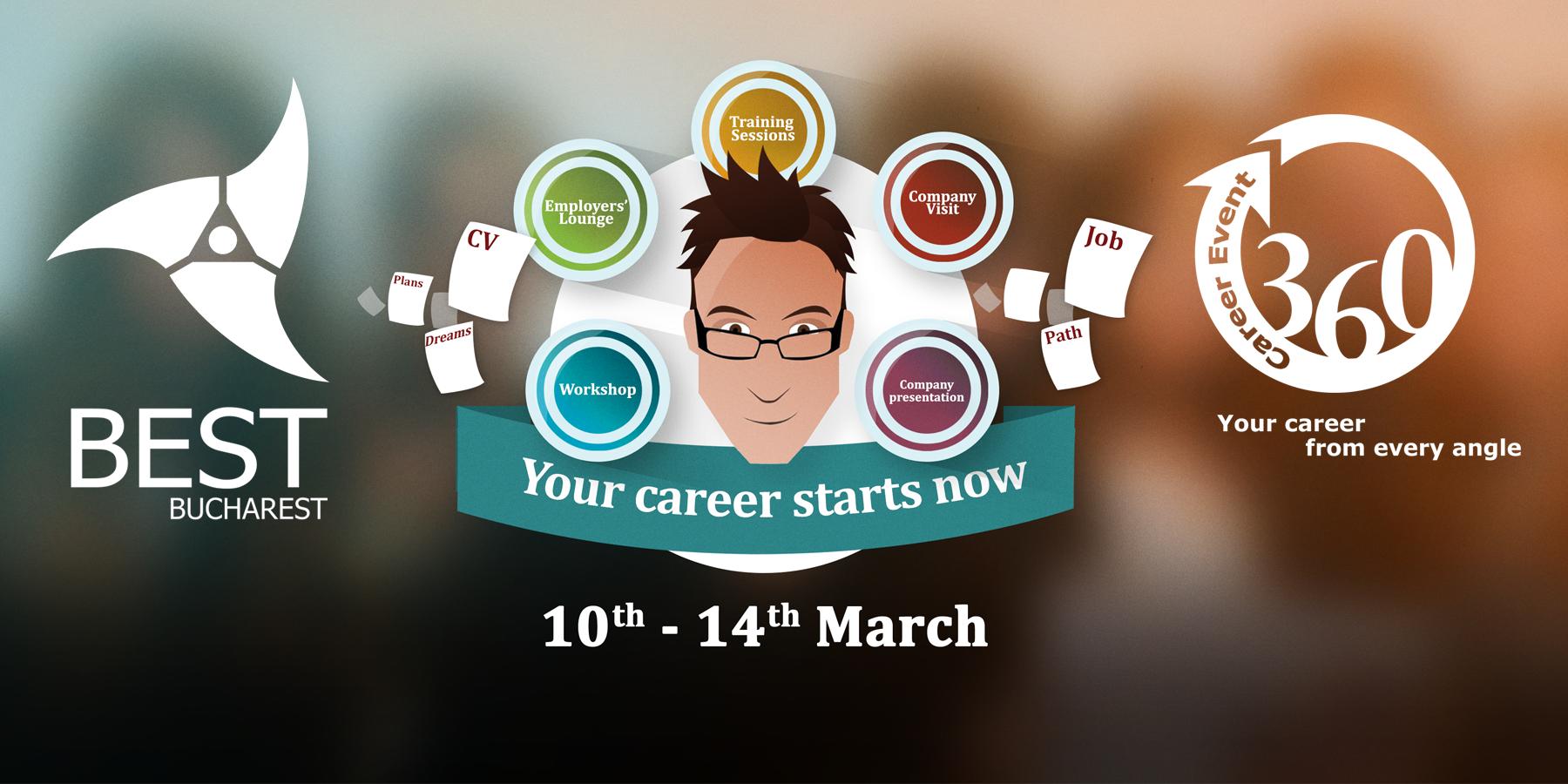 360 Career Event 2014: primii pași spre o carieră de succes!