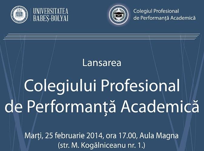 Universitatea Babeș-Bolyai lansează Colegiul Profesional de Performanță Academică