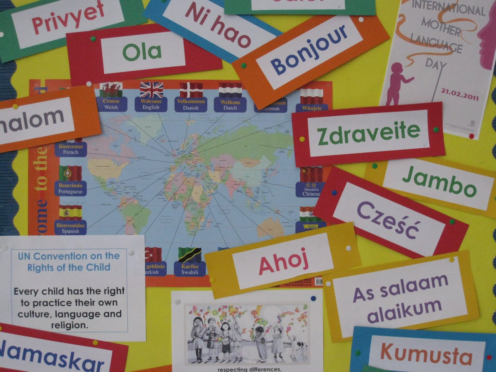 Este Ziua Internațională a Limbii Materne