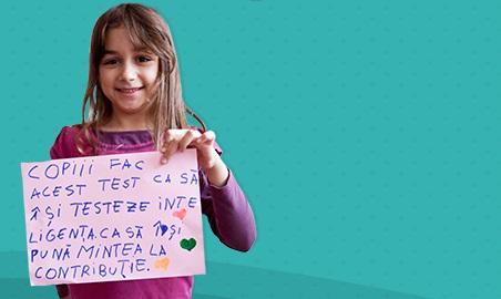 Asociația Centrul Gifted Education lansează campania națională de selecție a copiilor supradotați