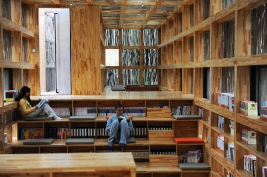 Biblioteca- Liyuan-din- China