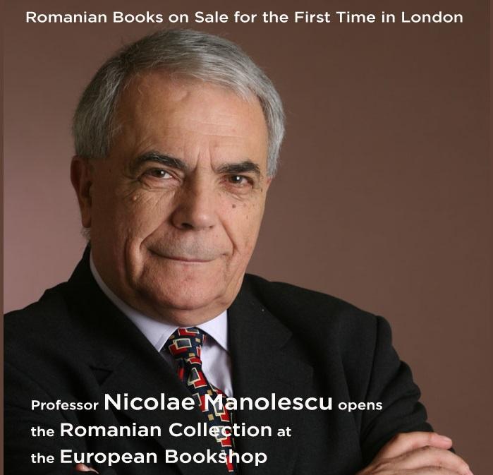 Cărțile românești ajung pe rafturile Librăriei Europene din Londra