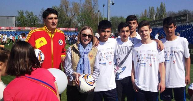 Peste 2500 de copii au practicat activități de educație fizică la Sportul Altfel