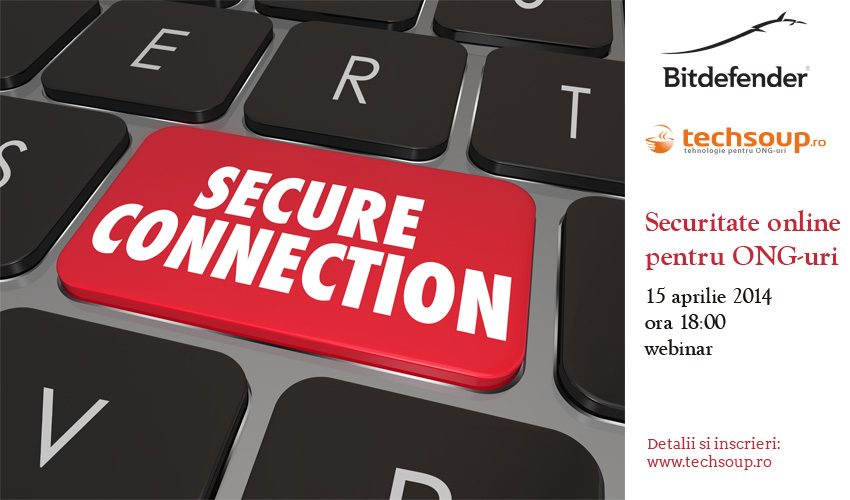 Training online: Securitate online pentru ONG-uri