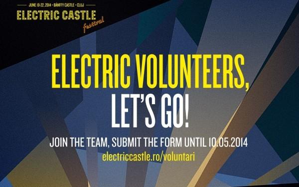Se caută voluntari entuziaști pentru organizarea Electric Castle Festival 2014