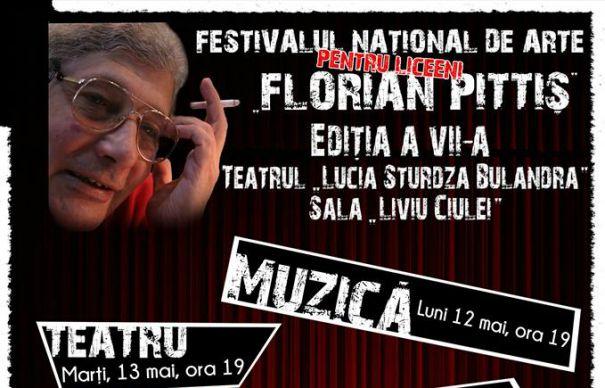 Începe Festivalul național pentru liceeni Florian Pittiș!