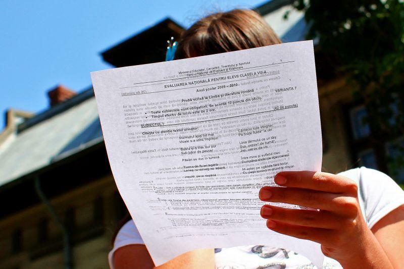 Miercuri începe Evaluarea Națională a elevilor de clasa a IV-a