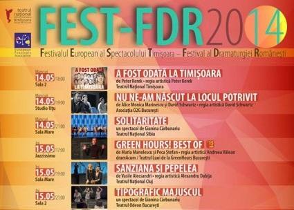 Festivalul Dramaturgiei Românești aduce la Timișoara nume grele ale teatrului contemporan