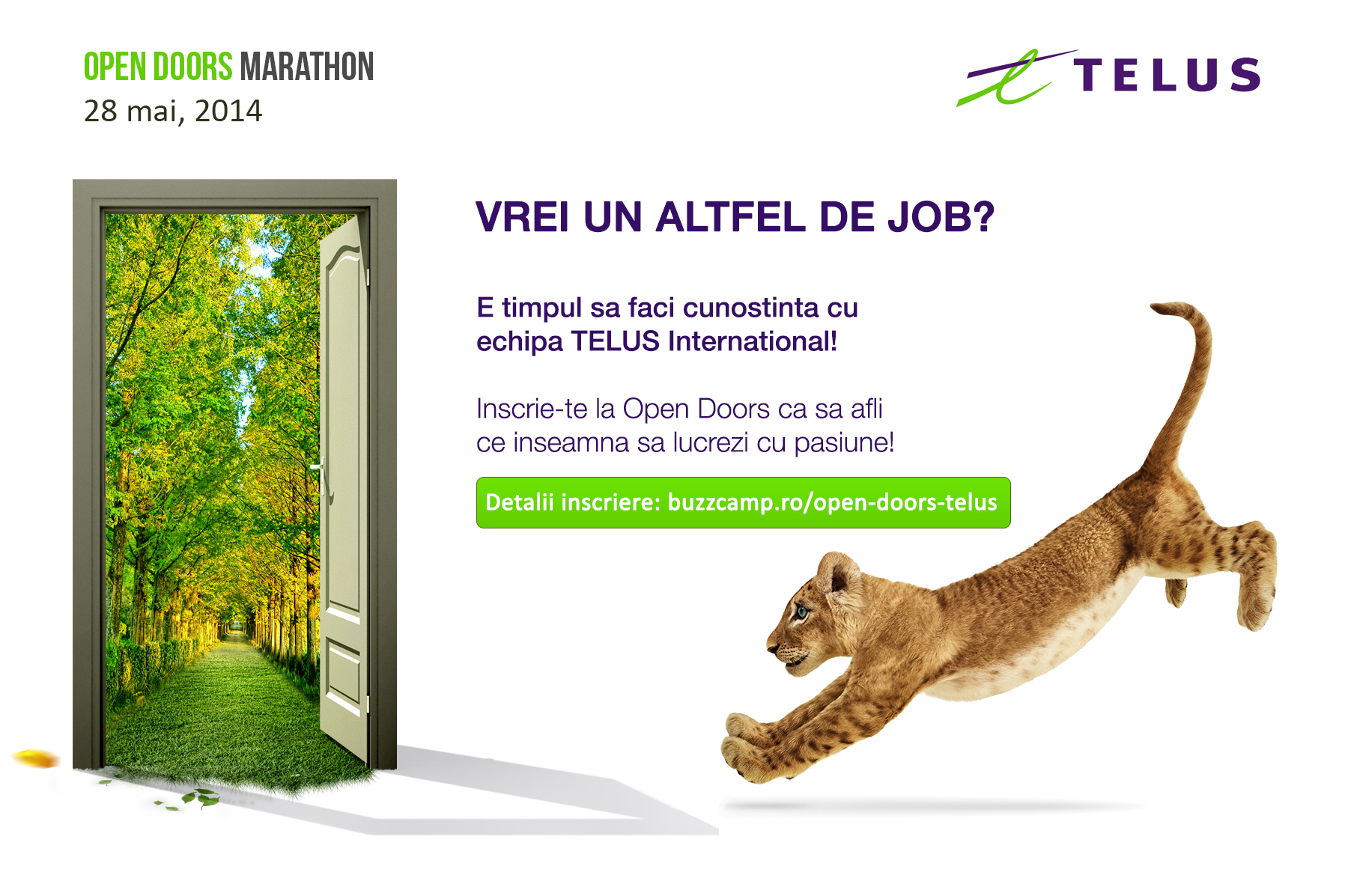 Vrei un ALTFEL de Job? E timpul să faci cunoștință cu echipa TELUS International!